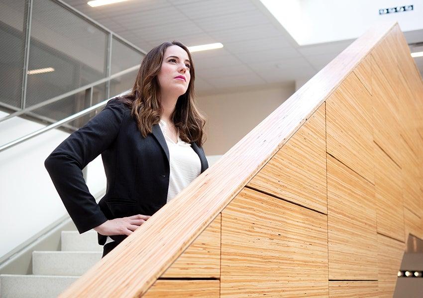 MBA student Kendall Carol