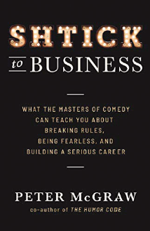 Schtick to business cover