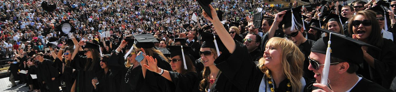 Colorado Business School Home Page Slider Graduation 2016