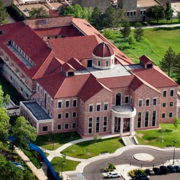 Koelbel Building at the University of Colorado Boulder