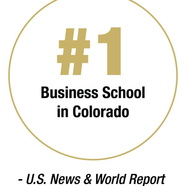 #1 Business School in Colorado
