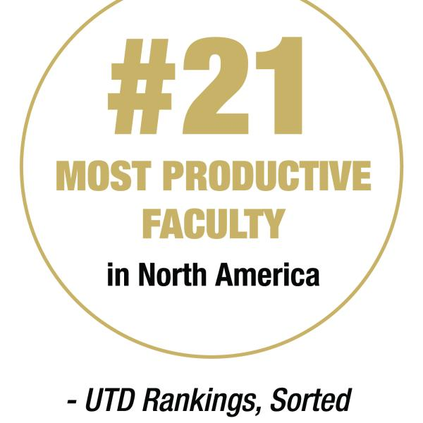 #21 most productive Faculty