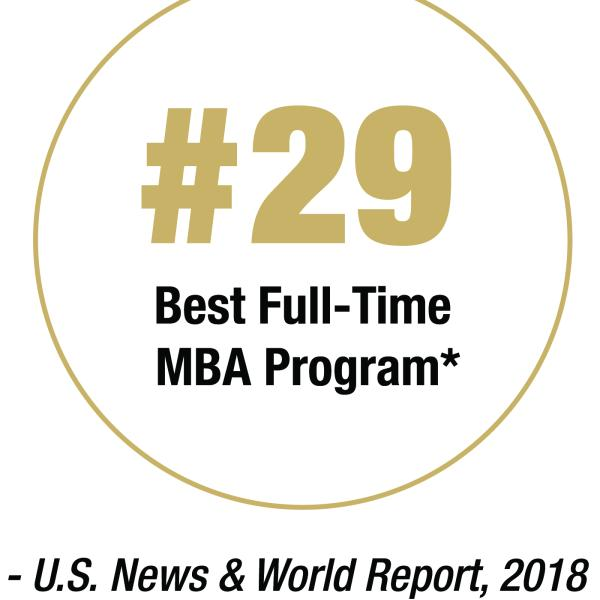 #29 Best Full-time MBA Program