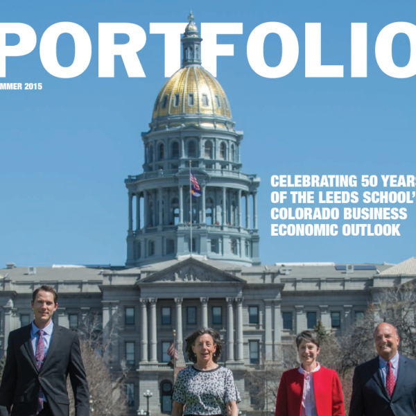 Portfolio magazine from the Leeds School of Business at CU-Boulder