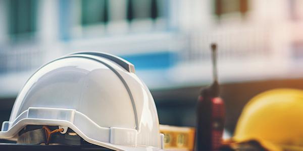 Construction hard hats demonstrating Beastly Bias