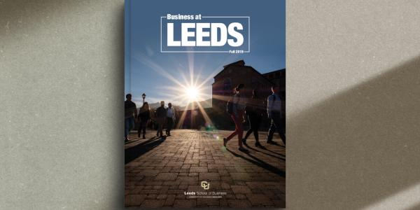 Business at Leeds cover