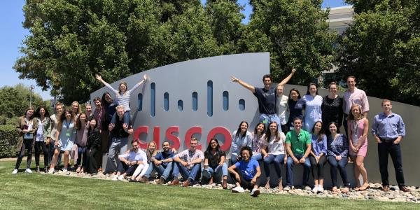 Cisco Interns at HQ