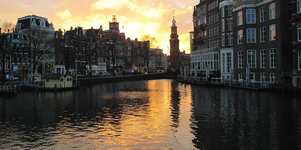 Amsterdam city image to represent Global Seminar