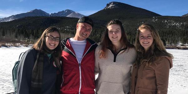 CESR Fellows on the slopes of Colorado