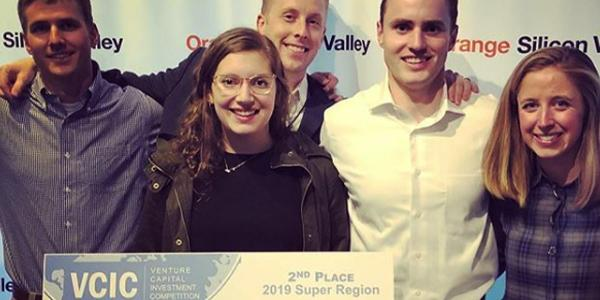 Deming Center for Entrepreneurship venture capital investment competition team members