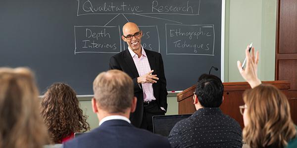 Executive MBA Program at Leeds participants