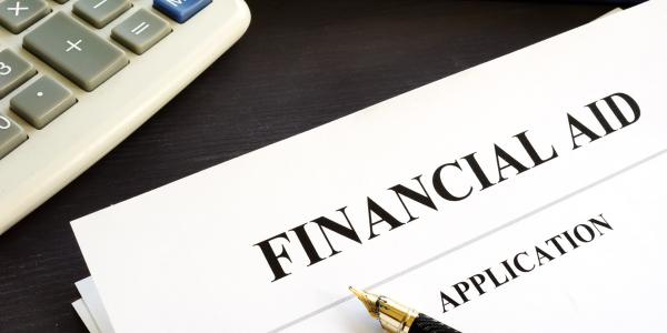 evening MBA program financial aid application and calculator