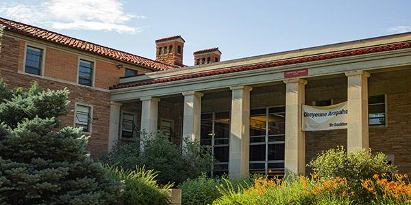 Business Residence hall on the CU Boulder campus