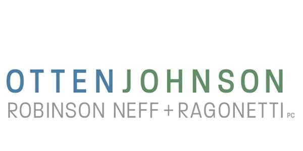 Otten Johnson sponsor logo for CUREC 2020 Symposium