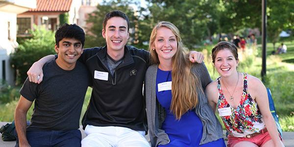 a group of peer to peer mentors