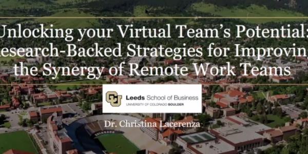 Alumni webinar Christin Lacerenza