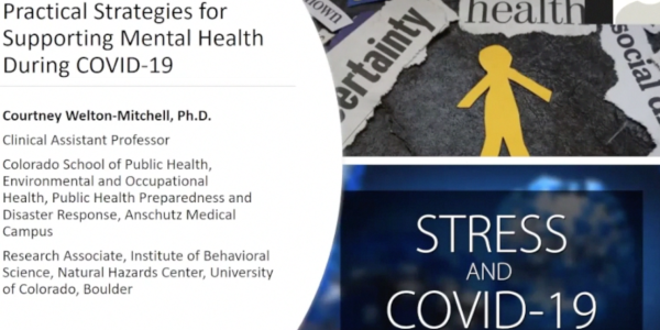 Practical Strategies for Supporting Mental Health During COVID-19