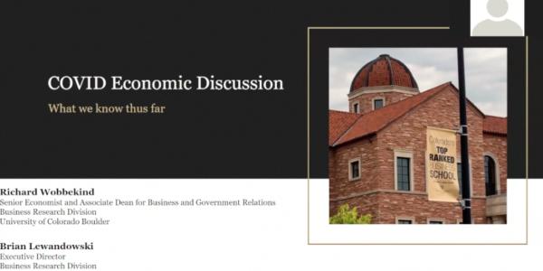 COVID 19 Economic Discussion
