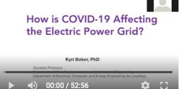 How is COVID-19 Affecting the Electric Power Grid?