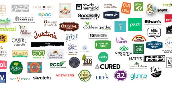 Nautral and organics pathway logos of participating organizations
