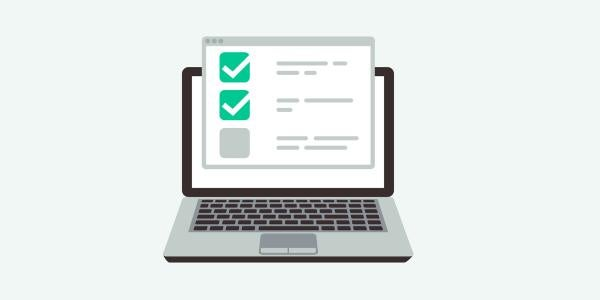 an MBA application checklist