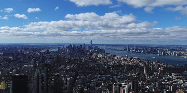 Wall Street Trek New York Skyline