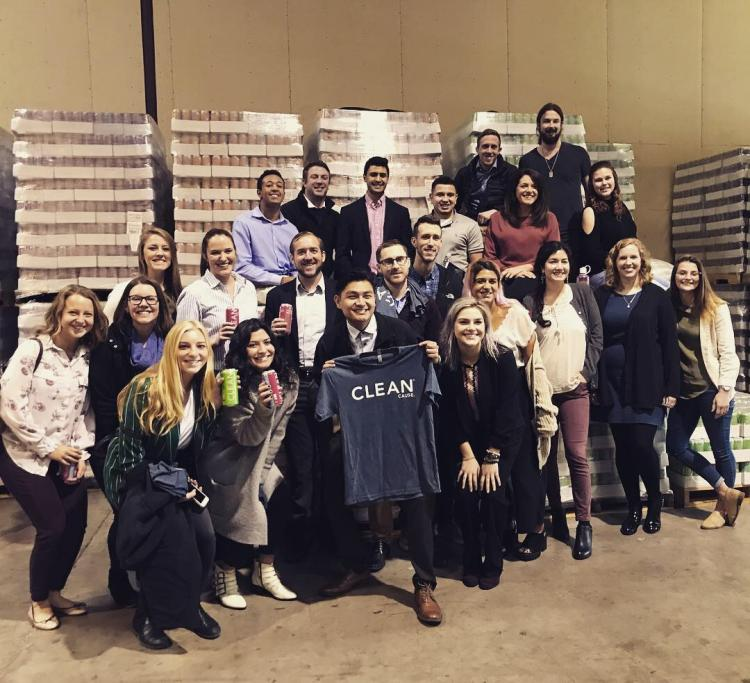 CU Boulder students at CLEAN Cause