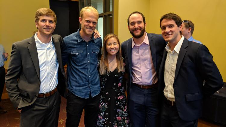 Deming Center Venture Fund members