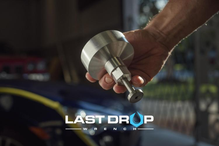 Last drop wrench