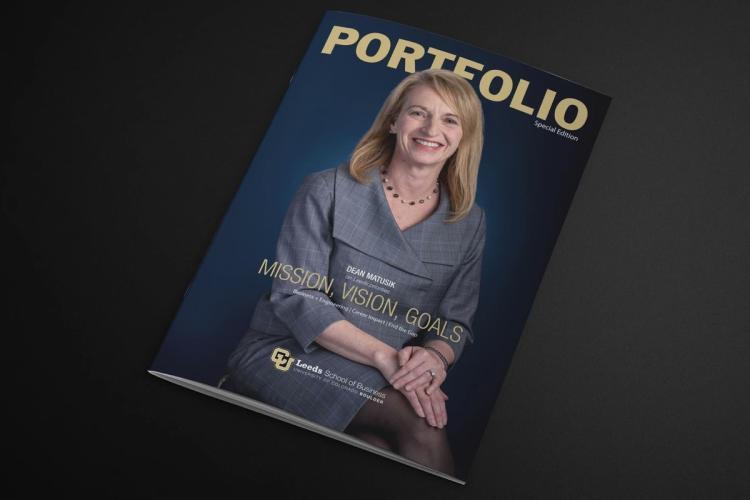 the cover of Leeds Alumni magazine