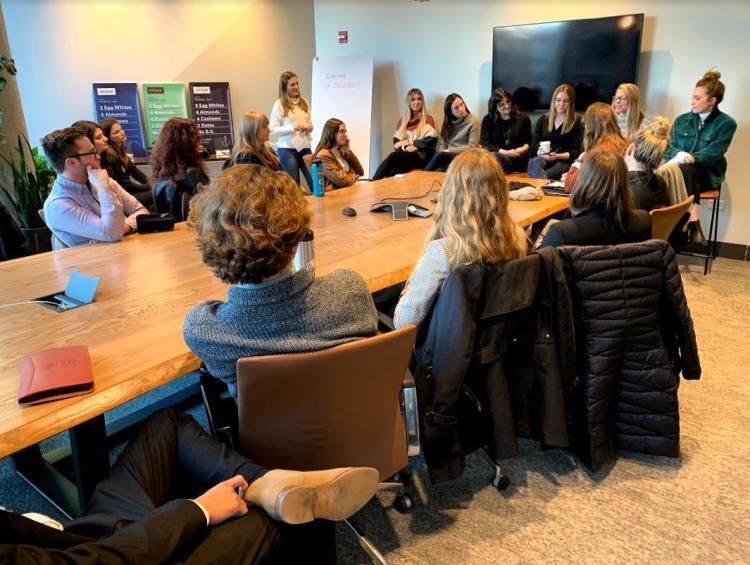 mba students on chicago visit