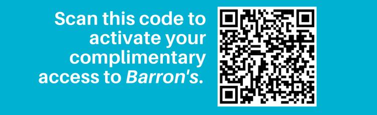 Barron's QR Code