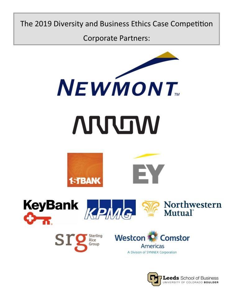 DBECC 2019 Corporate Partners