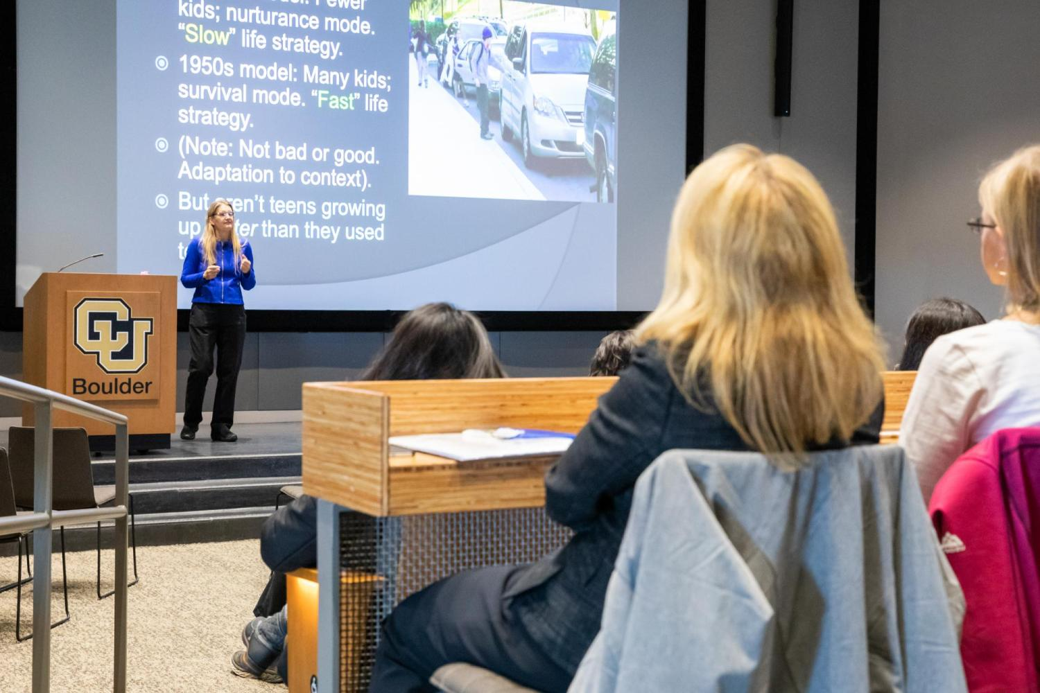 Dr. Jean Twenge Presents to CU Faculty and Staff on Reaching and Teaching iGen Students