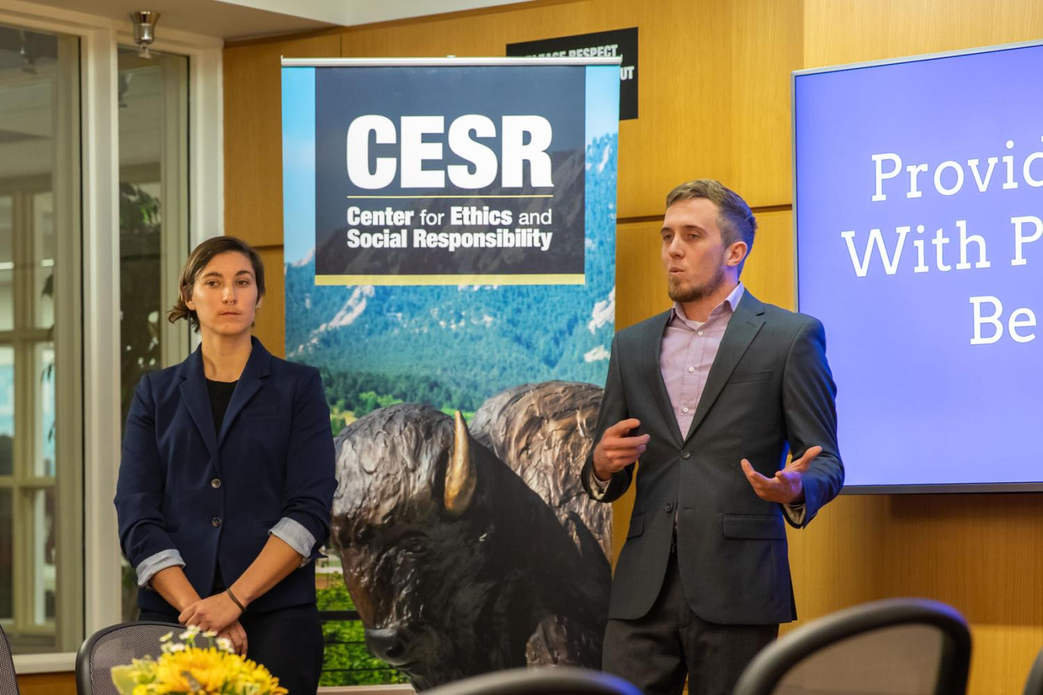 Competitors in Inaugural Natural and Organic Case Competition