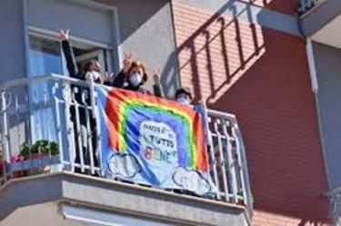 balcony sign