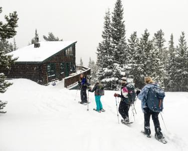 MBA Hut Snowshoe