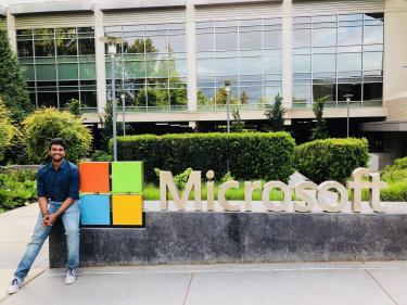 Raj Teja Chitturi at Microsoft
