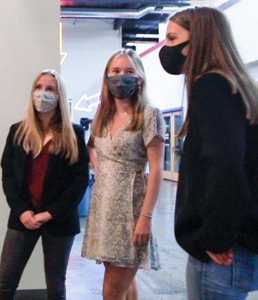 Women in masks BE Tech Comp