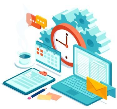 Illustrations of Computer Screens