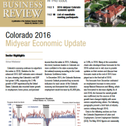 Colorado Business Review, Issue 2, 2016
