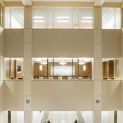 Image of a building interior to represent David Drake's work in sustainable building education