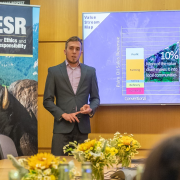 winning natural and organic case competition team 2019 presenting