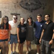 Kendall Carroll and other NetApp interns