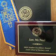 Student Excellence Award MBA blog