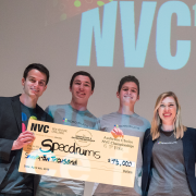 New Venture Challenge champs