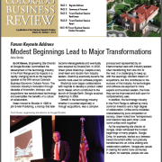 Colorado Business Review, Issue 1, 2019