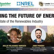 Exploring our Energy Future: State of the Renewables Industry Title Slide