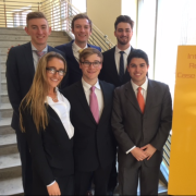 Leeds Team competing in International Real Estate Competition