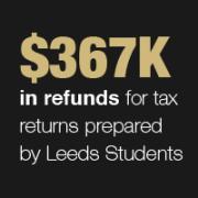 Tax Program Refund Graphic